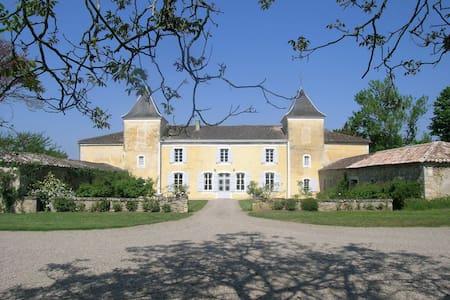 Ravissant Château dans le Bordelais - Aillas - Castelo