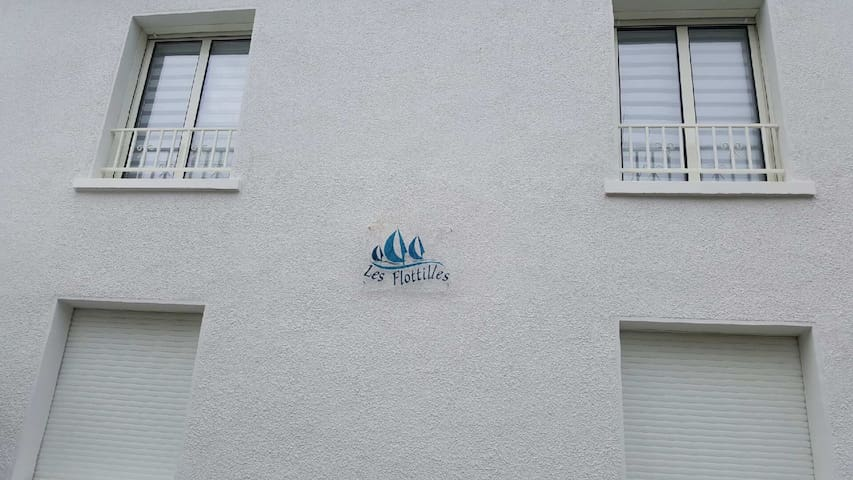 Bienvenue aux Flottilles - Le Crotoy - Apartamento