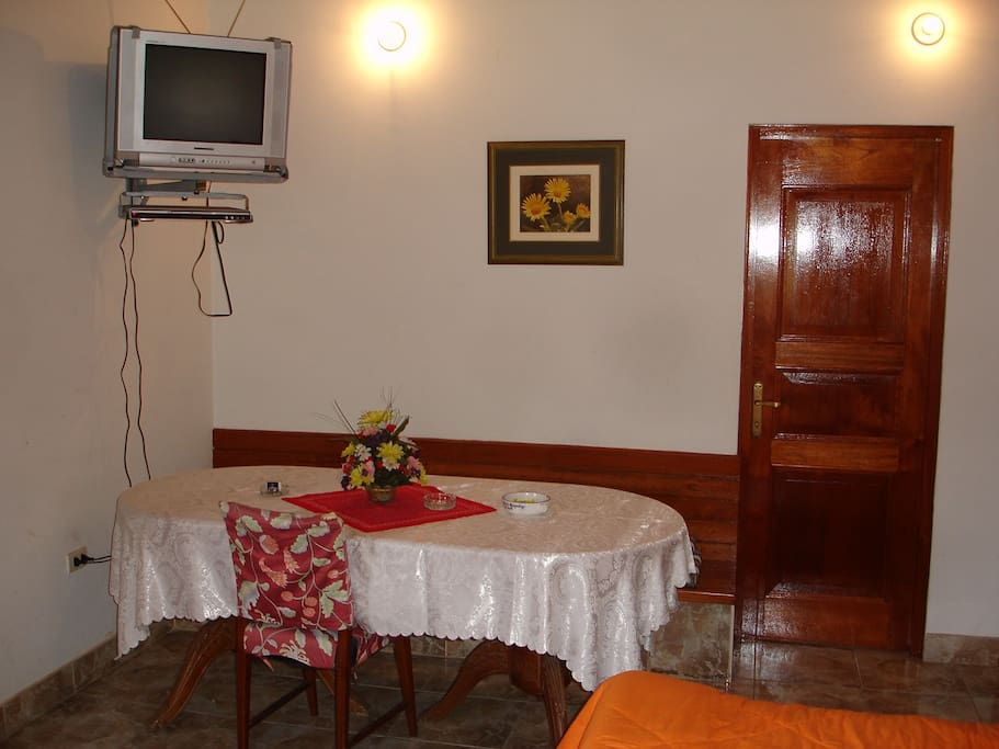 Main bedroom dining area