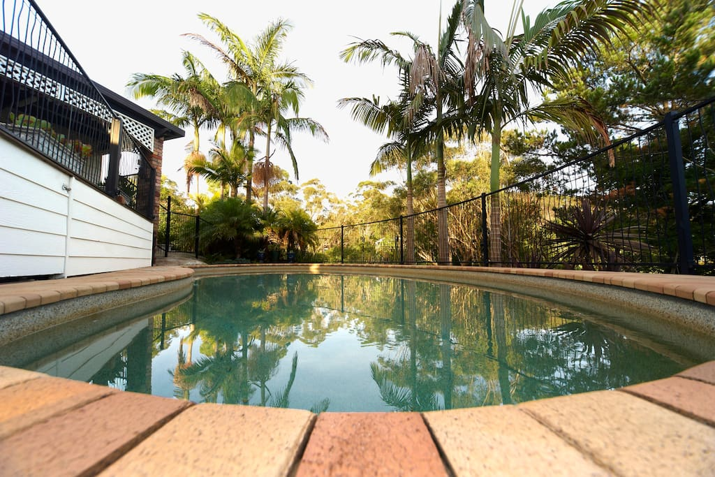 our private pool enjoyed most by guests