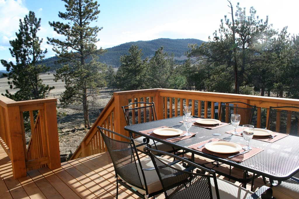 The cabin at trout creek cabins for rent in buena vista Cabins buena vista co