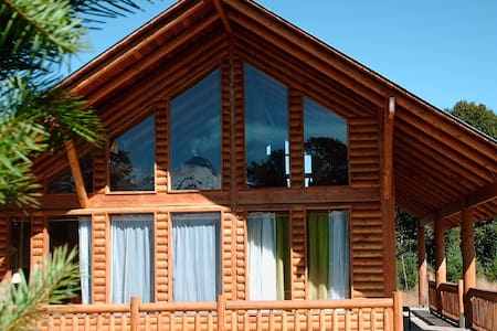 log cabin/ casa de troncos - Villarrica - Haus