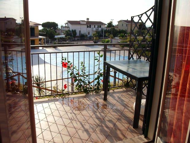 Апартаменты на Тирренском море - Scalea - Huoneisto