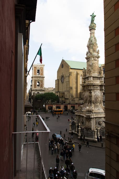 il balconcino a santa chiara -monolocale zaffiro- - appartamenti ... - Soggiorno Di Giotto A Napoli 2