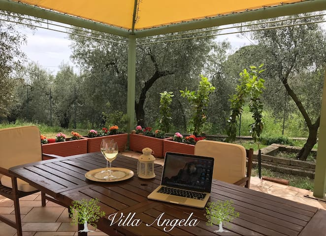 Villa Angela ✦ 4Guests Wifi ✦Betw.Rome and Naples
