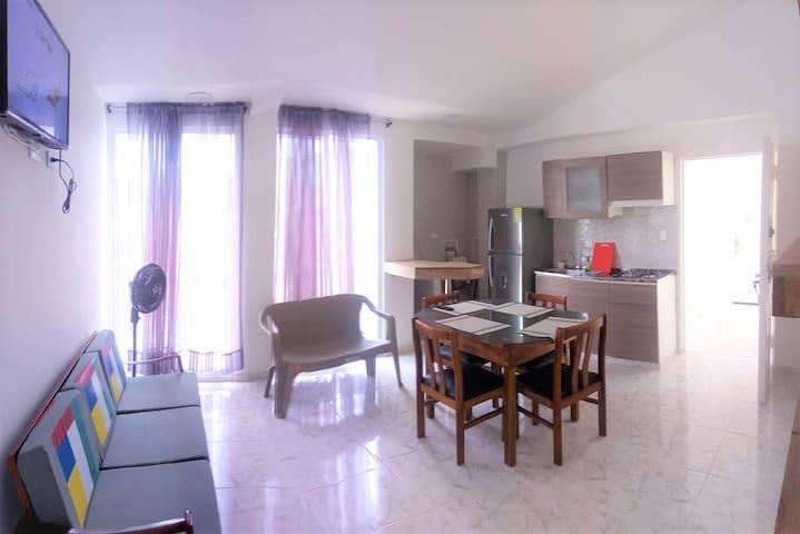 Private room: Balcony & Fresh Breeze. Single beds