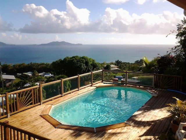 EXOTICA, et sa vue panoramique sur les îles !