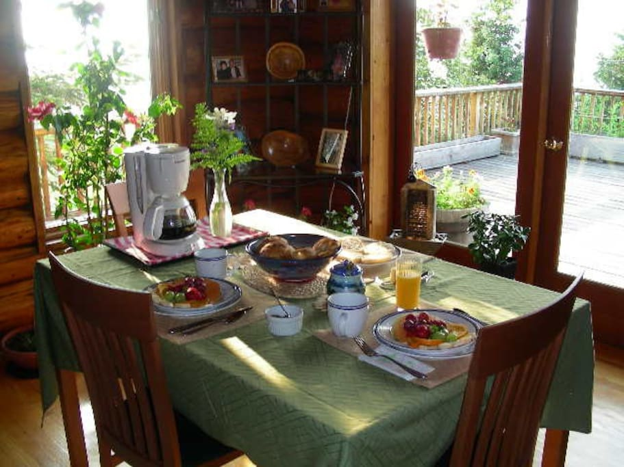 Delicious breakfast served each morning!