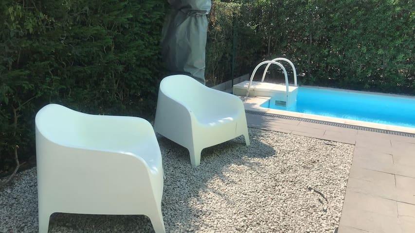 Moradia com piscina em Resort de 4 estrelas