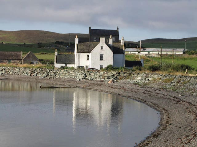 The Manse with the seabarn to the left