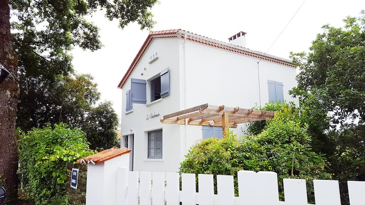 Jolie villa très bien située, plages, restaurants