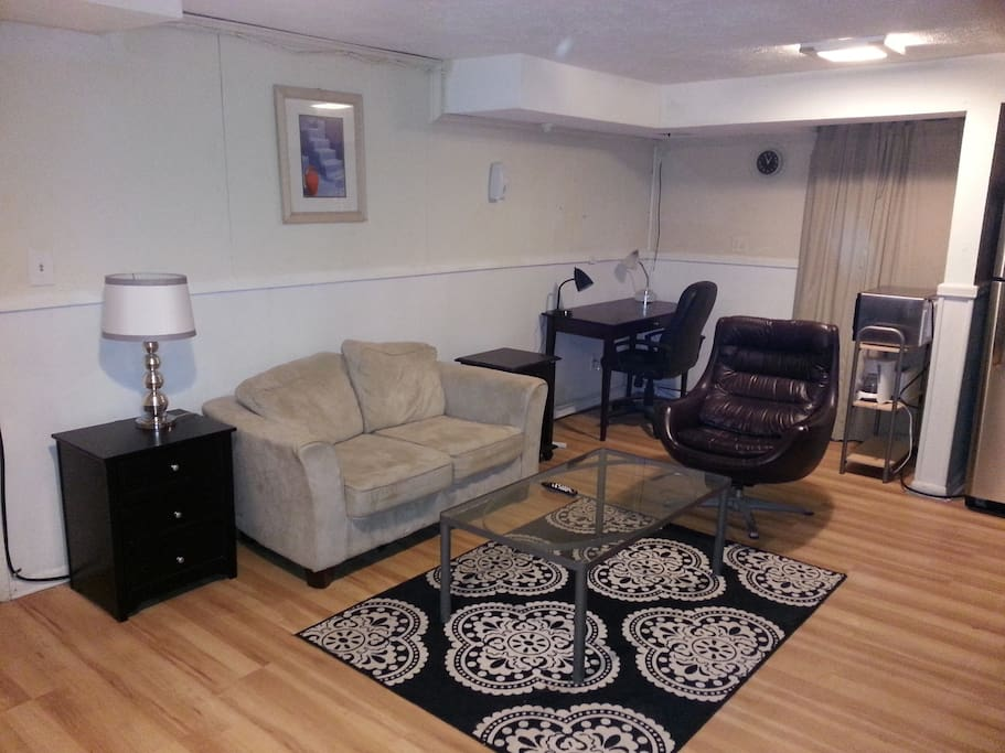 furnished english basement in dc apartments for rent in washington