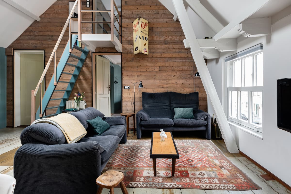 Knus appartement met stoere details in het Zeeuwse Groede
