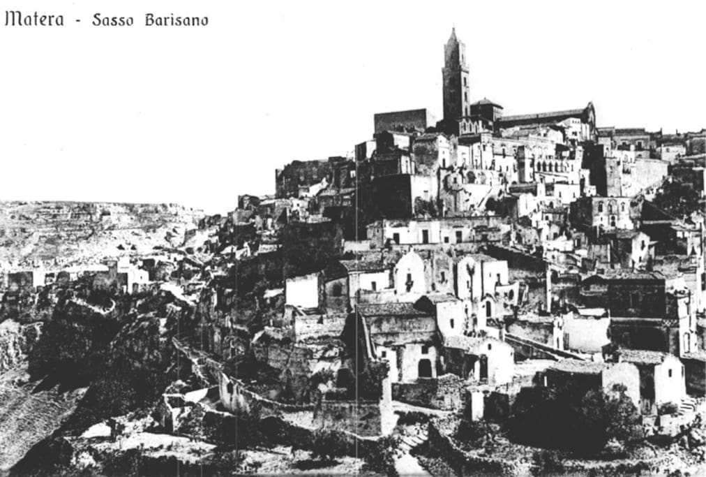 Matera all'inizio del 1900