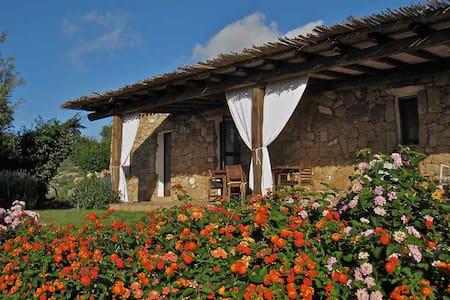 La Casetta, an old stone house