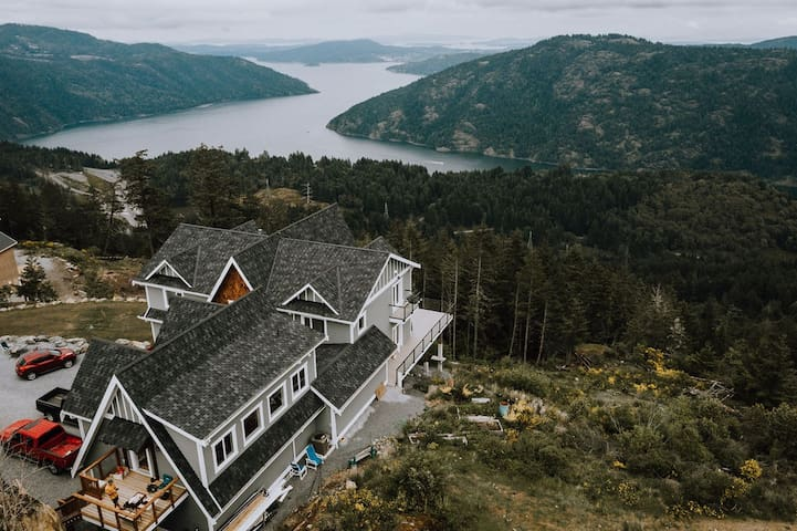 Above it all Guest suite Shawnigan Lake
