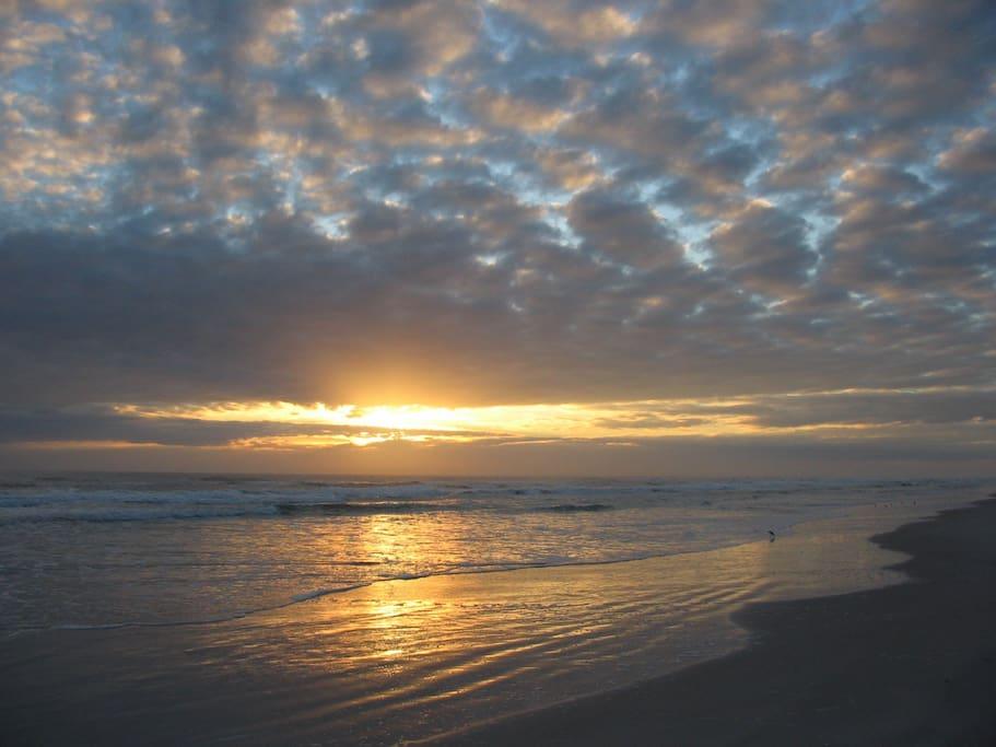 Sunrise at NSB