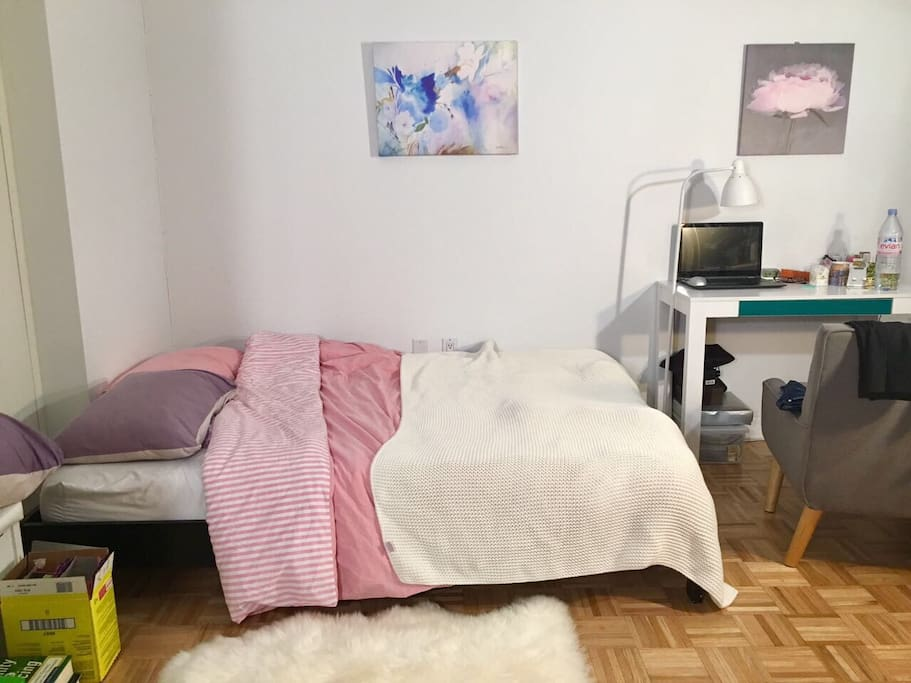Large and fully furnished bedroom