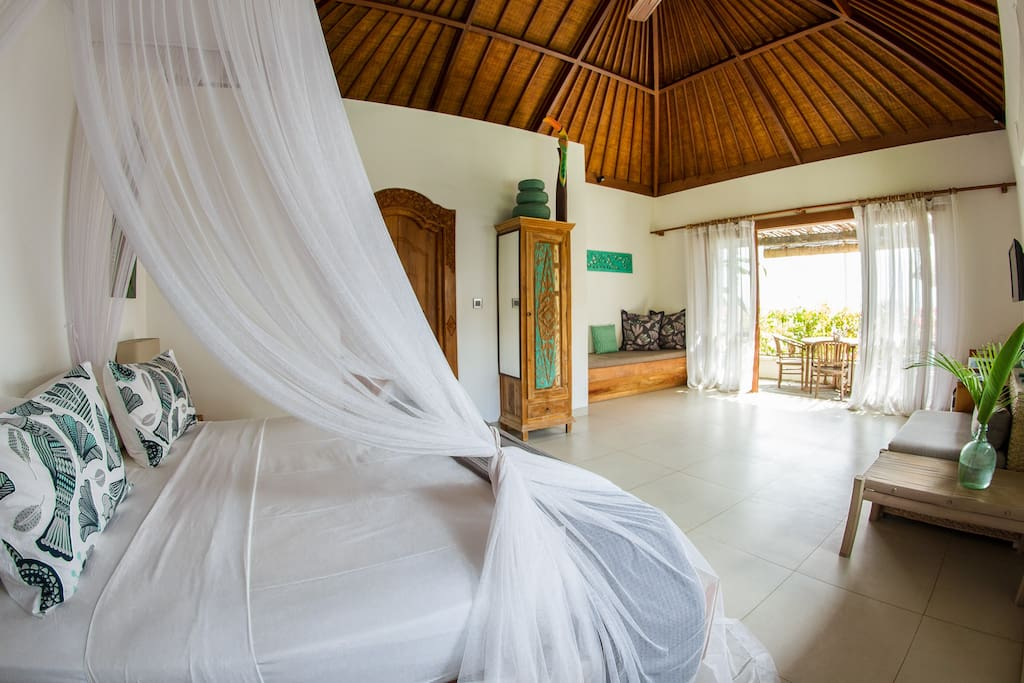 View from Bed ... Villa Sinta