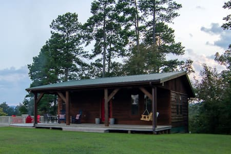 """The Little Cabin"" north of Broken Bow"