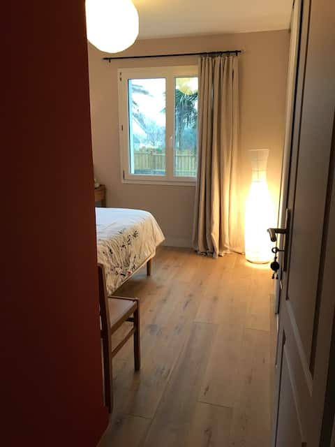 Chambre chez habitant avec salle de bain privée