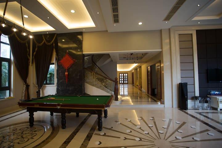 灵昆超豪华私人庄园有管家 - Wenzhou - Villa