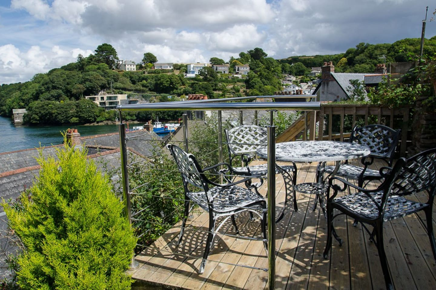 River Fowey views from the patio
