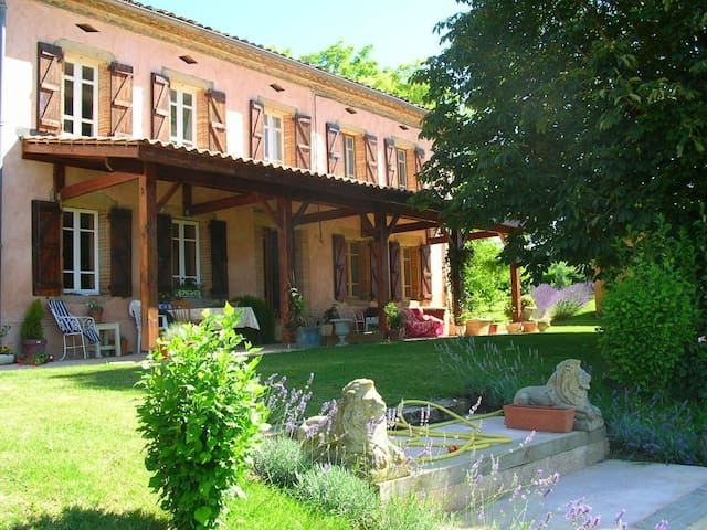 Delightful French Country Manor - Salvagnac - Talo