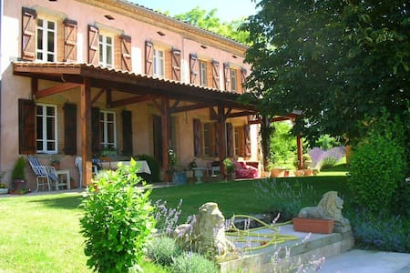 Delightful French Country Manor - Salvagnac - Casa