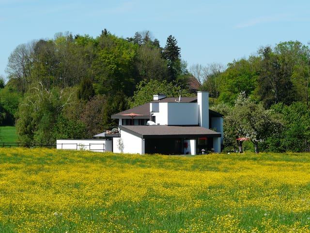 Wolfhausen ZH : Studio en pleine nature
