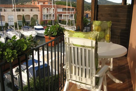 Confortable appartement Port Grimaud