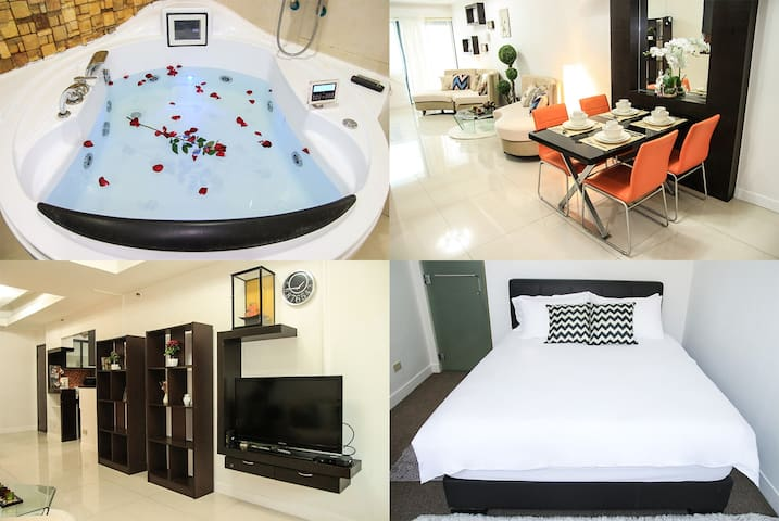 Special Promo! 1 BR w/ Hot Jacuzzi @ Eastwood