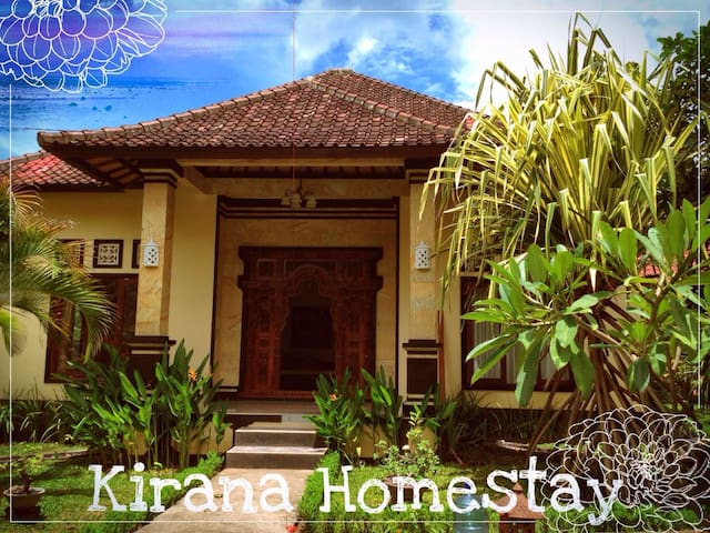 KIRANA HOMESTAY KING GUEST ROOM - Abang - House