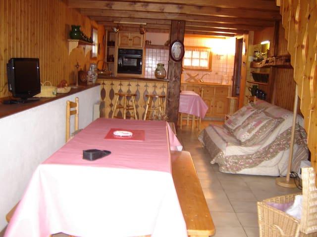 Appartement situé dans un chalet - Taninges - Almhütte