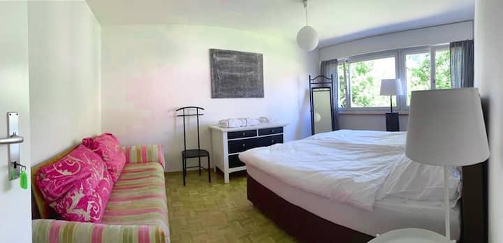 Moossee Zimmer in Bern Zollikofen