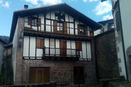 Apartamento rural amplio y sano en Erratzu-Baztan.