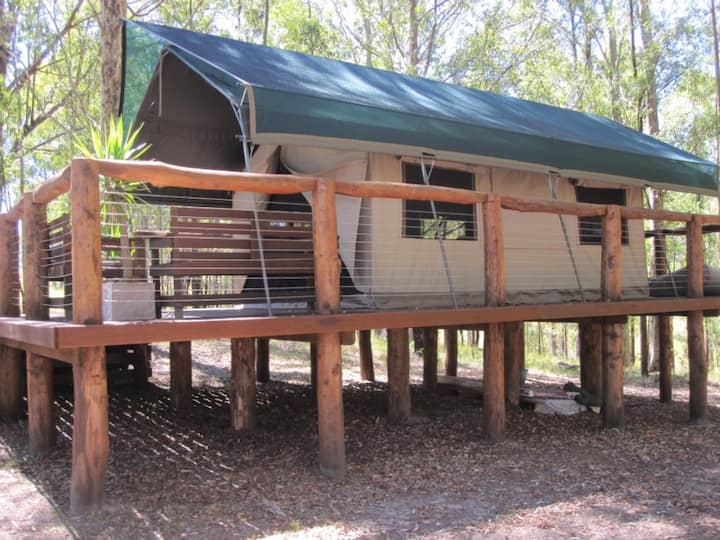 Glamping in the Bush with all the wow factor