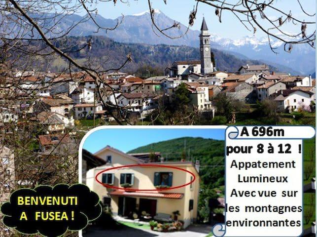 Gite lumineux pour (PHONE NUMBER HIDDEN)m  /Belle vue ! - Tolmezzo - House