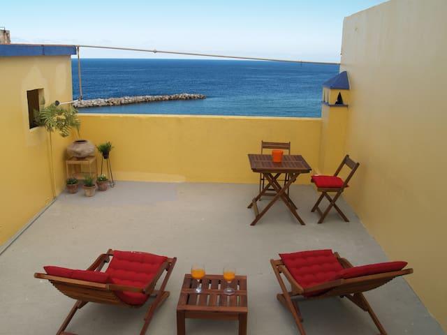 Casa vista al mar casco histórico - Santa Cruz de la Palma - Casa
