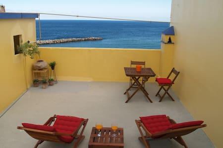 Casa vista al mar casco histórico