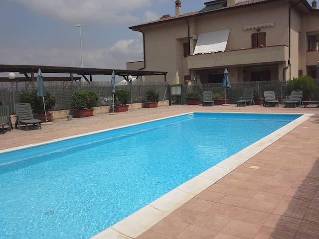Pleasant apartment on the Maremma coast with pool*