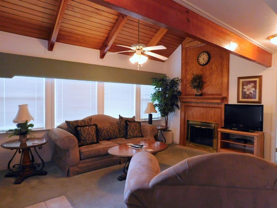 Living-room in the Villa