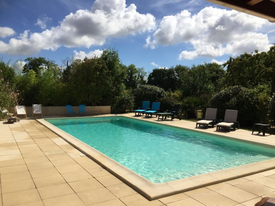 The pool and patio were completely renovated in 2016 - You will share the pool with the owners. 11m x 5m