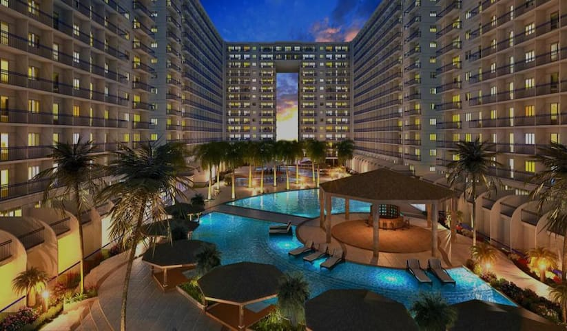 *BRAND NEW*  1 BR Furnished Condo Shell Residences - Pasay - Condominium
