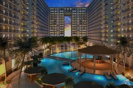 *BRAND NEW*  1 BR Furnished Condo Shell Residences - Pasay - Osakehuoneisto