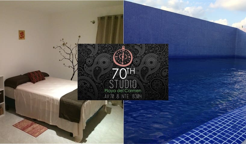 Brand new studio with swiming pool - Playa del Carmen - Wohnung