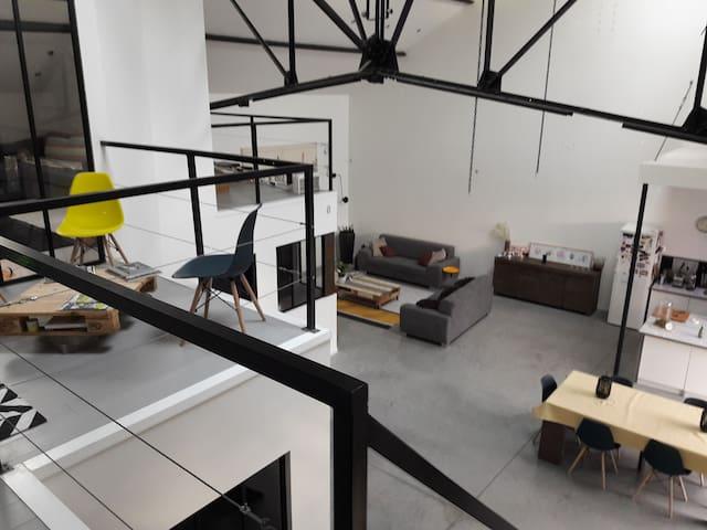 Loft 80: Chambre