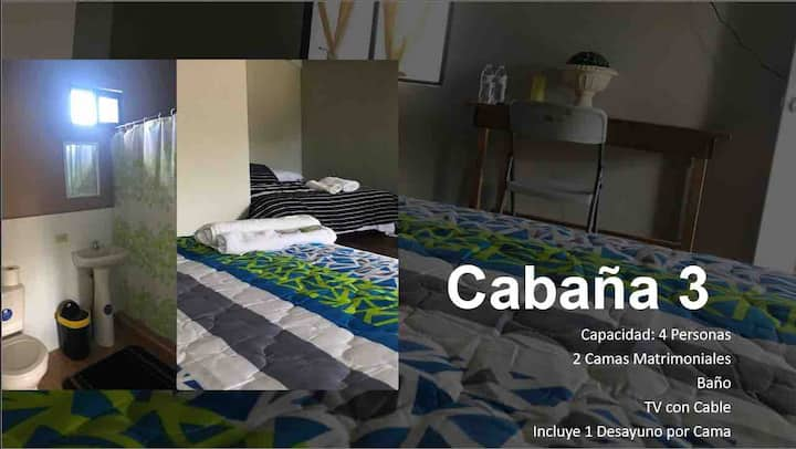 KELUCAR Cabaña (Cabin) No. 3