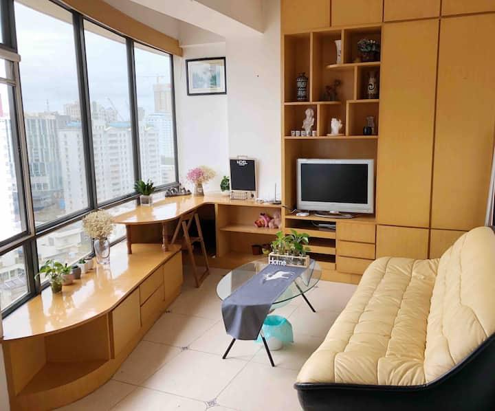南屏步行街/市中心/顺城/正义坊/超高挑高公寓 Downtown cozy apartment
