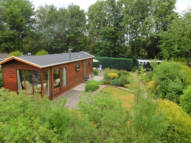 Chalet midden in Nationaal Park Drents-Friese Wold